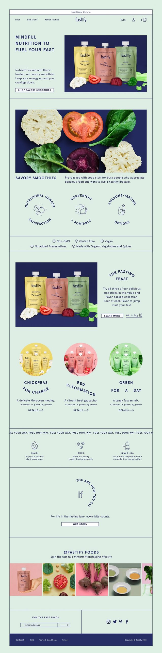 Fastify Food Identity + Packaging | Bartlett Brands